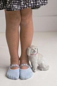 Bonnie Doon Söckchen für Ballerina weiß