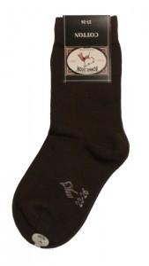 Bonnie Doon Basic-Socken dunkelbraun