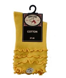 Bonnie Doon Frou Frou Socken gelb