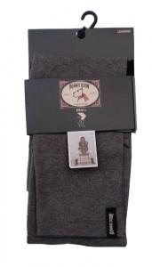 Bonnie Doon Damen Slim Fit Basic Legging med. grey heath.