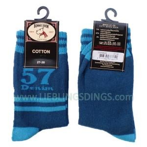 Bonnie Doon Socken Fifty Seven blau