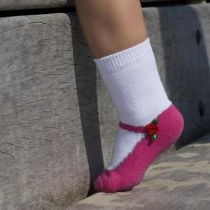 Bonnie Doon Baby Socken Ballerina Rose pink