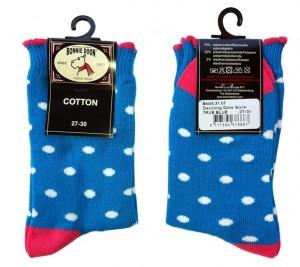 Bonnie Doon Socken Dazzling Dots blau/weiß/pink