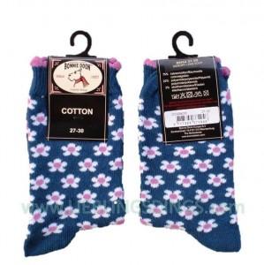 Bonnie Doon Baby Socken Memory Lane blau