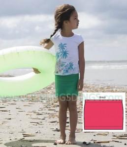 Bonnie Doon Cotton/Lycra-Rock pink