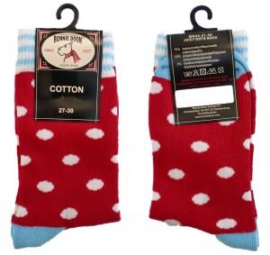 Bonnie Doon Juicy Dots Socken rot