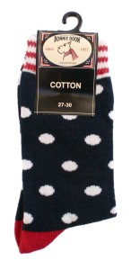 Bonnie Doon Juicy Dots Socken navy