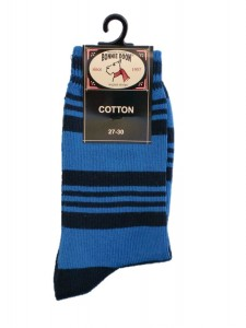 Bonnie Doon Leisure Socken Streifen navy