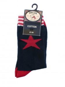 Bonnie Doon Star Socken navy