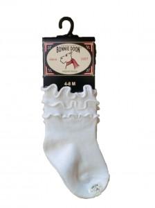 Bonnie Doon Frou Frou Baby Socken weiss