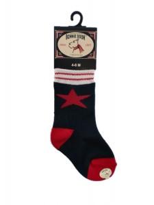 Bonnie Doon Star Baby-Socken navy