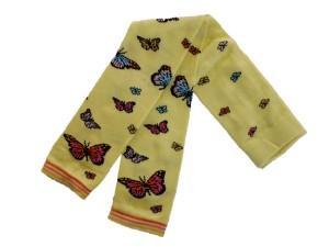 Bonnie Doon Butterflies Legging fairy dust = gelb