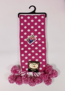 Bonnie Doon Schal Dots pink