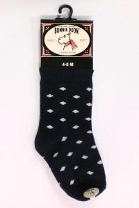 Bonnie Doon Baby Socken Dots navy