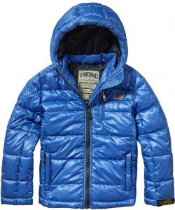 Vingino Winter-Jacke mit Kapuze TAZO reflex blue