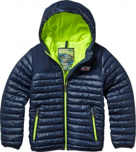 Vingino Winter-Jacke mit Kapuze TYL dark blue