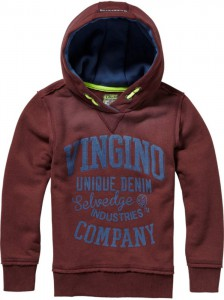 Vingino Kapuzen-Sweat-Shirt NEDAL red wine