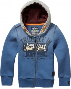 Vingino Kapuzen-Sweat-Jacke ONNON blue ash