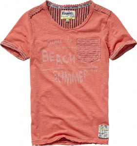 Vingino T-Shirt HOWIE bright peach