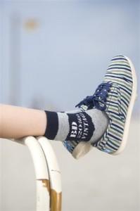 Bonnie Doon Socken Vintage navy