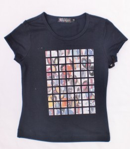 Carbone T-Shirt Amy navy