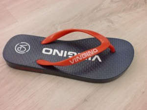 Vingino Flip Flop MIKE red/dark blue