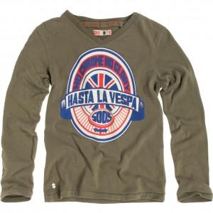 CKS Langarm-Shirt/Longsleeve Audie khaki