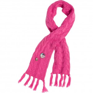 CKS Schal Akika shocking pink