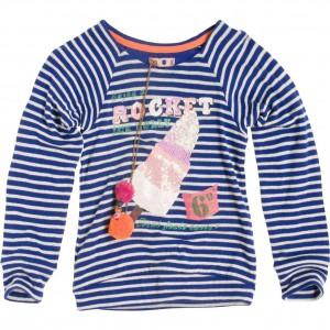 CKS Sweat-Shirt/Longsleeve Amabella Streifen skipper