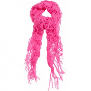 CKS Schal Amadisa shocking pink