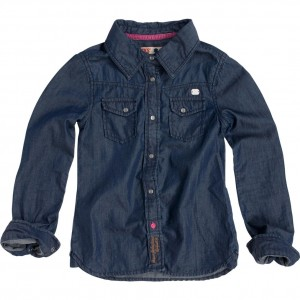 CKS Bluse Valentia blue denim