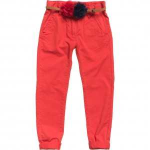 CKS Chino Hose FLEX hop red