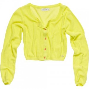 CKS Bolero / Cardigan KICK spotlight yellow