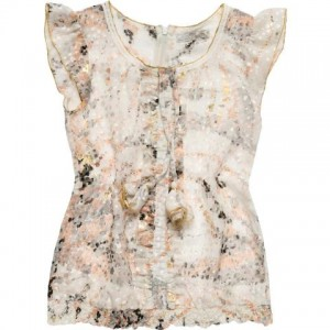 CKS Bluse SLOW bloom grey 2 Teile