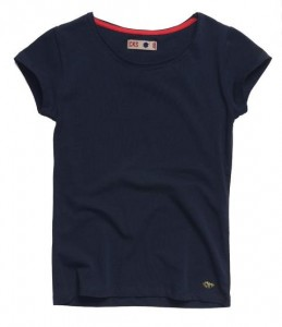 CKS Basic T-Shirt ROXY blazer navy