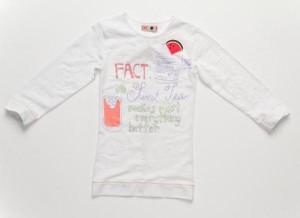 CKS Langarm-Shirt/Longsleeve SLOPPY russian white