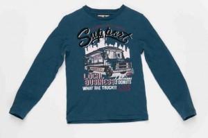CKS Langarm-Shirt/Longsleeve BASTIAN blue gum Gr. 140-10y