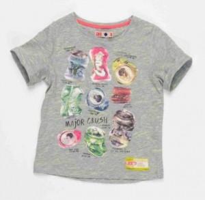 CKS T-Shirt SPUTAT grey mele