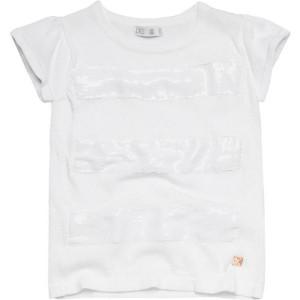 CKS feinstrick T-Shirt HALO bright white