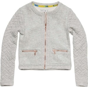 CKS Sweat-Jacke/Cardigan HELENA light grey mele