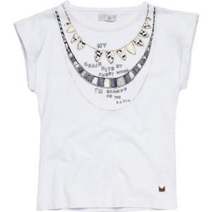 CKS T-Shirt HIO bright white