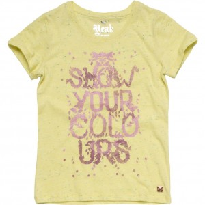 CKS T-Shirt HIPPOT yellow forever
