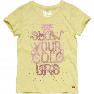 CKS T-Shirt HIPPOT yellow forever