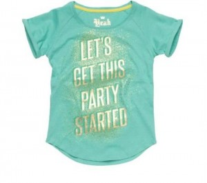 CKS T-Shirt HOLE party green