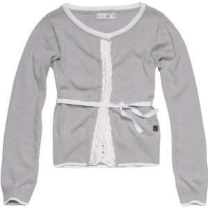 CKS Feinstrick-Cardigan KIBOW grey disc