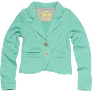 CKS Sweat-Cardigan/Blazer BOA party green