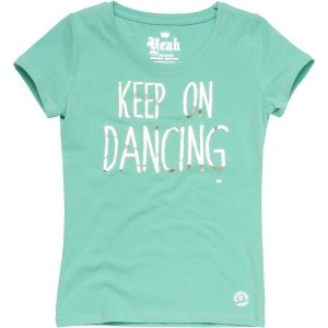 CKS T-Shirt ROXY party green
