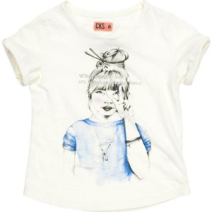 CKS T-Shirt HARUKO white rice