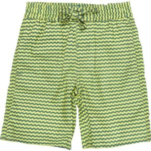 CKS Bade-Bermuda/Short WAVESTRIPES croco green