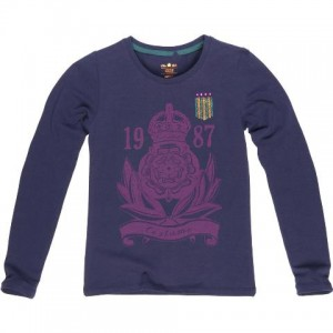 CKS Langarm-Shirt/Longsleeve CROWN night blue